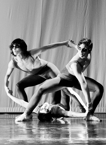 "Group of Male Ballet Dancers in Heinz Manniegel's ""Folias"""