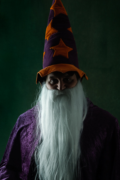 Wizard (shot for a musical production)